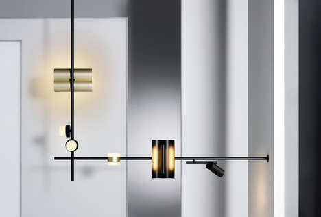 Mix-and-Match Lighting Fixtures