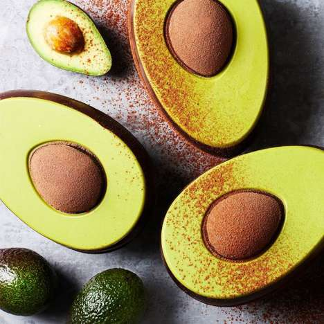 Avocado-Themed Easter Eggs