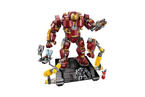 Large-Scale LEGO Superhero Sets