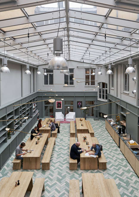 Skylit Co-Working Spaces