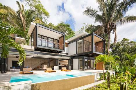 Cantilevered Forest Villas