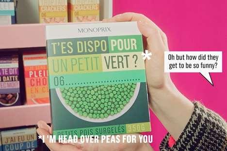 Romantic In-Store Food Packaging