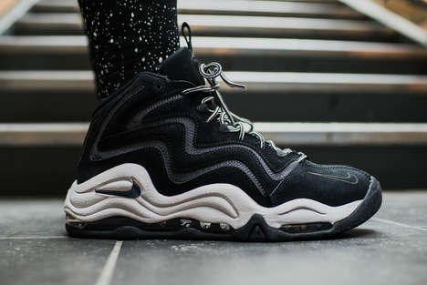 Wavy Futuristic Sneakers