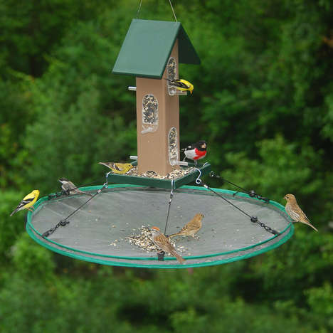 Birdhouse-Improving Seed Catchers