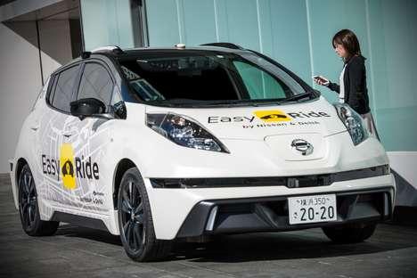 Branded Autonomous Taxi Services