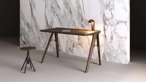 Portuguese-Inspired Desks