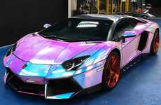 Custom Holographic Sports Cars