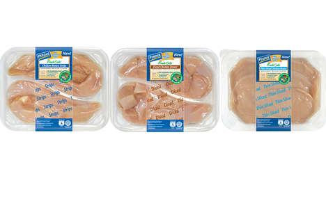 Conveniently Prepared Chicken Breasts