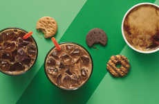 Cookie-Infused Coffee Beverages - These Dunkin' Donuts Girl Scout Cookie Drinks are Indulgent
