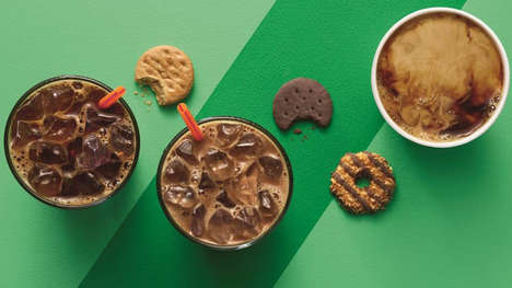 Cookie-Infused Coffee Beverages