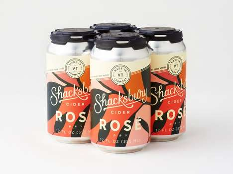 Canned Rosé Ciders