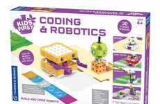 Low-Tech Robotics Kits - Thames & Kosmos' Coding & Robotics Set Teaches without Mobile Devices