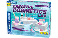 Beauty Lab Toys - Thames & Kosmos' 'Creative Cosmetics Lab' Teaches Chemistry Through Beauty