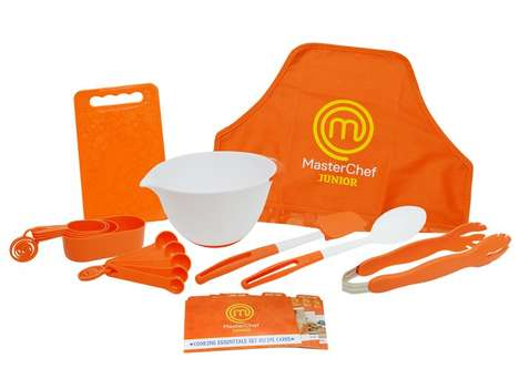 Kid-Friendly Cooking Sets - The MasterChef Junior Cooking Essentials Set Includes Three Recipe Cards