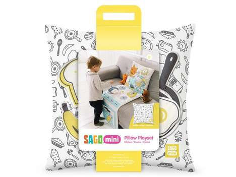 Kitchen Playset Pillows - Sago Mini's Pillow Toy is a Space-Saving Kitchen Playset Alternative