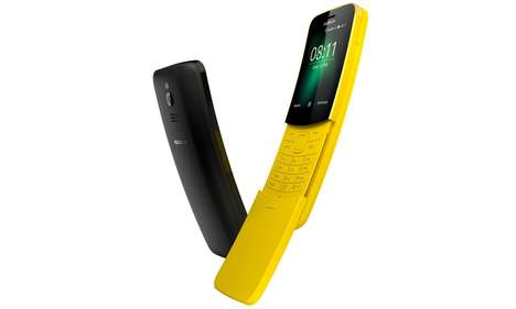 Revamped 90s Phones - The Iconic Sliding Phone is Making a Return with the Nokia 8110