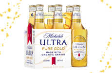 Health-Focused Organic Beers - Michelob Ultra Pure Gold Is an All-Natural Brew By Anheuser-Busch