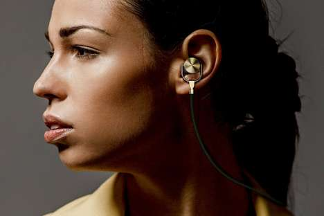 Contemporary Jewelry Headphones
