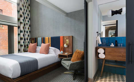 Renovated Mid-Century Hotels