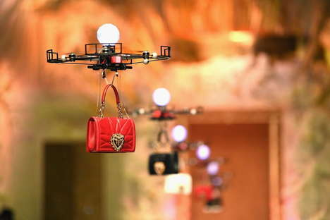 Drone-Powered Runway Shows