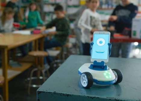 Smartphone-Powered Educational Robots