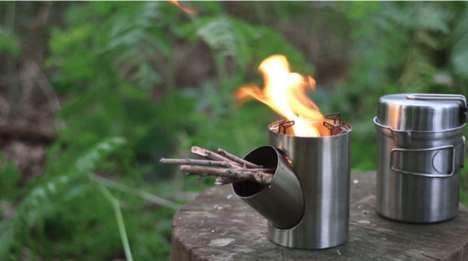 Portable Efficient Cooking Stoves