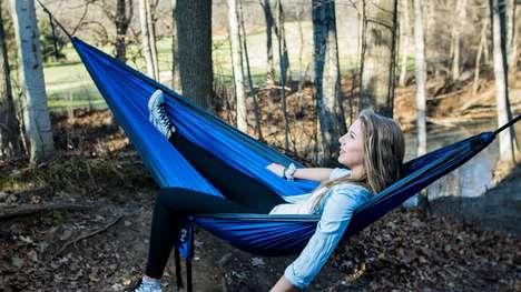 Expanding Camping Hammocks