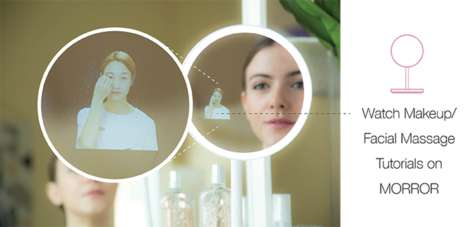 Makeup-Assisting Smart Mirrors
