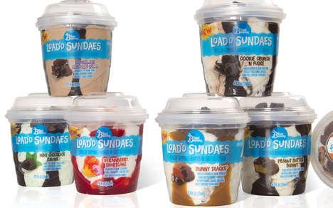 Prepackaged Ice Cream Sundaes