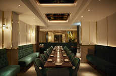 Luxurious South Asian Restaurants - A New 'Indian Accent' Restaurant Opened in London, England