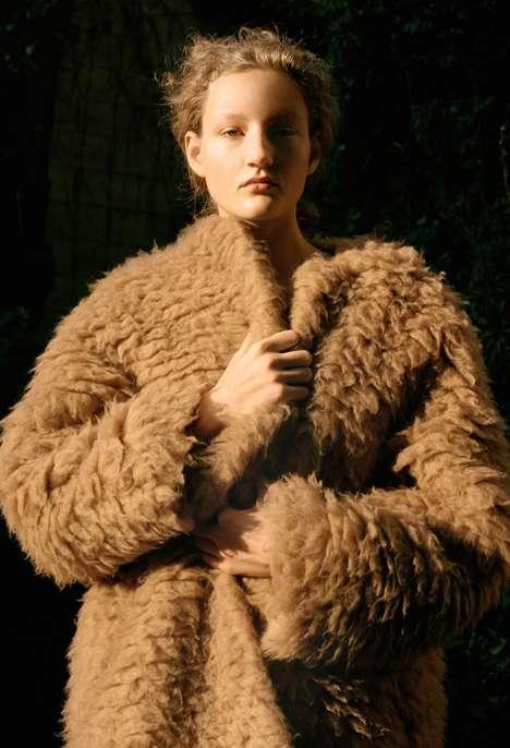 Boxy Mixed Fabric Fashion