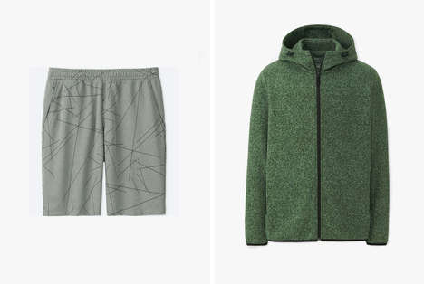 Uniqlo Released a New Line of Artistic Athletic Clothing