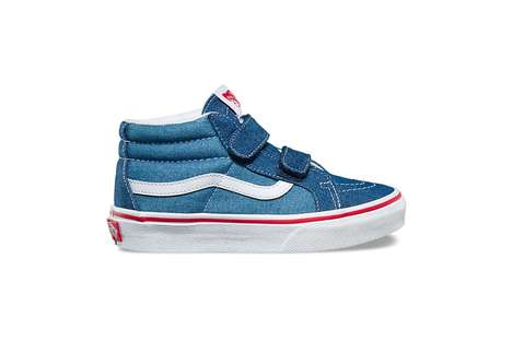 Denim-Covered Children's Shoes