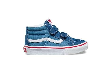 Denim-Covered Children's Shoes