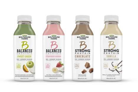 Reduced Sugar Smoothies