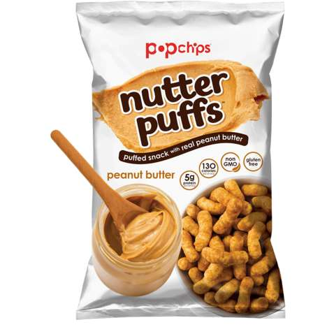 Puffed Nut Butter Snacks