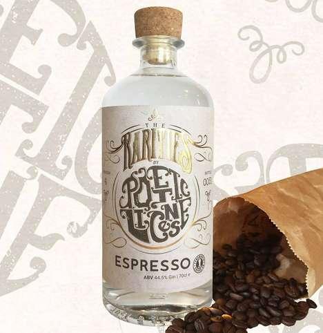 Espresso-Flavored Gin Spirits
