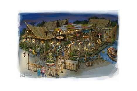 Tropical Hideaway Theme Parks
