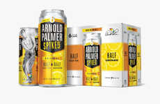 Refreshing Non-Carbonated Coolers - The Arnold Palmer Spiked Drinks Have a 5% ABV