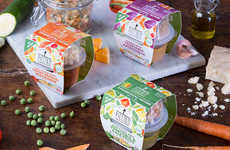 Mediterranean-Inspired Baby Foods - The New Piccolo Pots are Made with Flavorful Yet Healthy Recipes