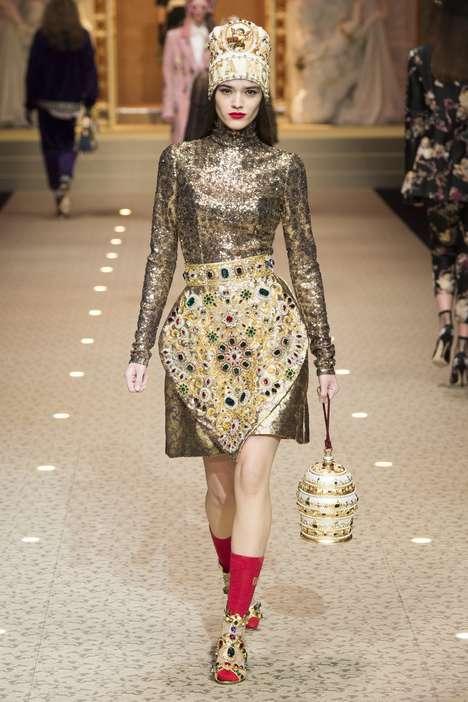 Robust Modern Baroque Fashion