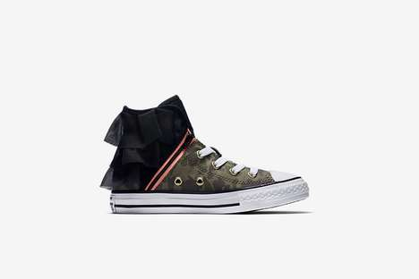 Punk Rock Kid's Sneakers