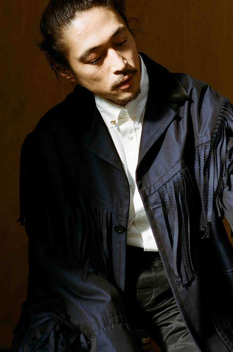 Japanese Actor-Backed Editorials