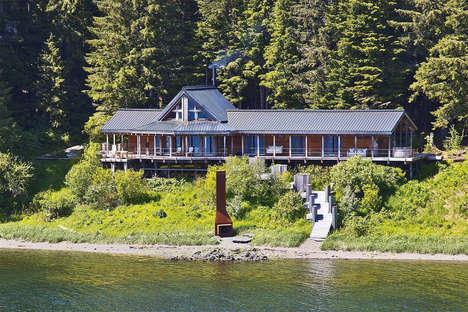 Sprawling Alaskan Cottages