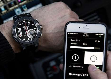 Swiss-Made Mechanical Smartwatches