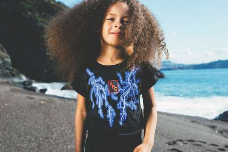 Lightning-Inspired Kids Clothes