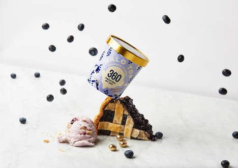 Springtime Berry Ice Creams