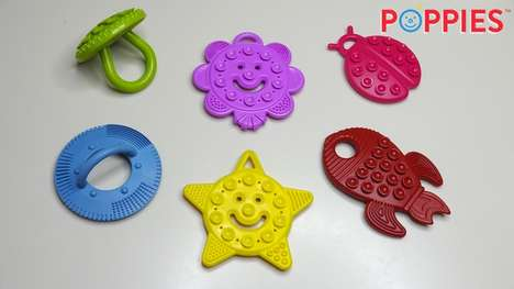 Suction Cup Teething Toys