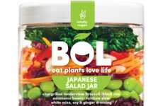 Globally Inspired Salad Jars - BOL Foods Makes Grab-and-Go Salads Inspired by International Cuisine
