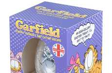 Catnip Easter Eggs - The Garfield Easter Egg for Cats Boasts a Yogurt and Catnip Formula